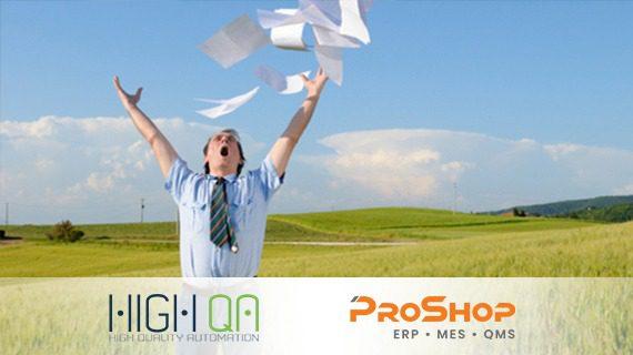 High QA and ProShop ERP work together