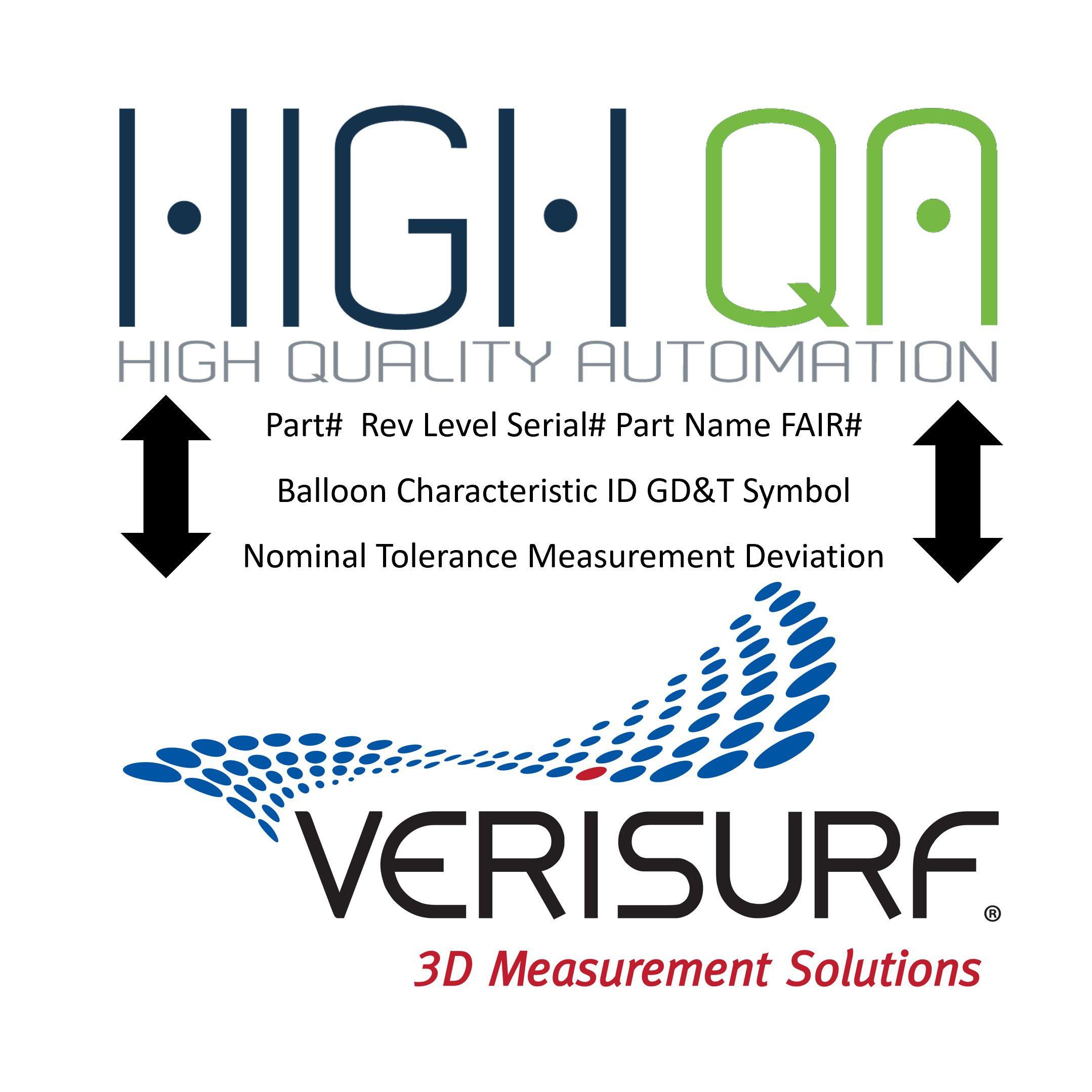High QA and Verisurf Integration partnership to streamline shop floor quality inspection workflows
