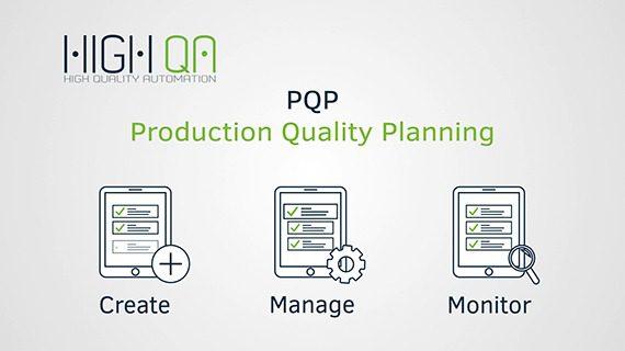 High QA PQP application helps manufacturing companies meet APQP requirements.